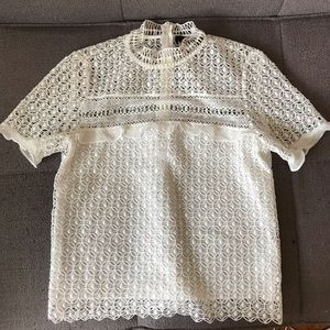 Zara blouse only worn once